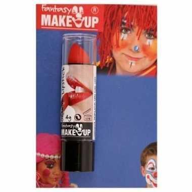 Goedkope halloween/horror mat rode lippenstift/lipstick