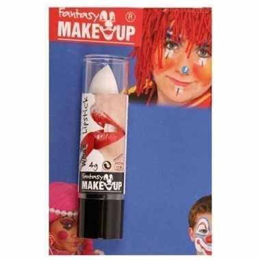 Goedkope halloween/horror mat witte lippenstift/lipstick