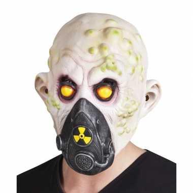 Goedkope halloween nucleair slachtoffer halloween masker latex