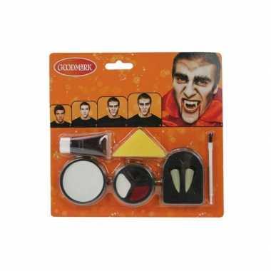 Goedkope halloween schmink set vampier