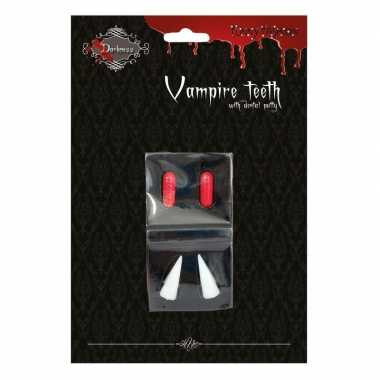 Goedkope halloween vampiertanden halloween bloedcapsules
