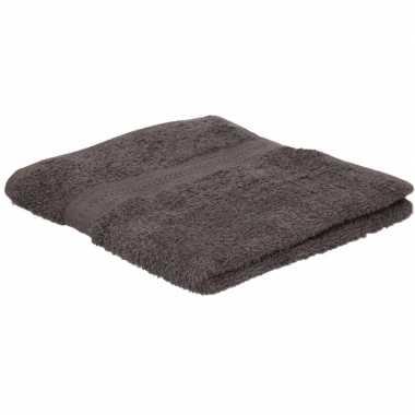 Goedkope handdoek grijs grams