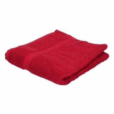 Goedkope handdoek rood grams