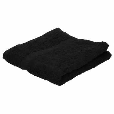 Goedkope handdoek zwart grams