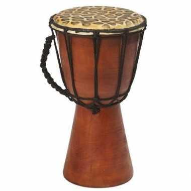 Handgemaakte drum/trommel giraffegoedkope