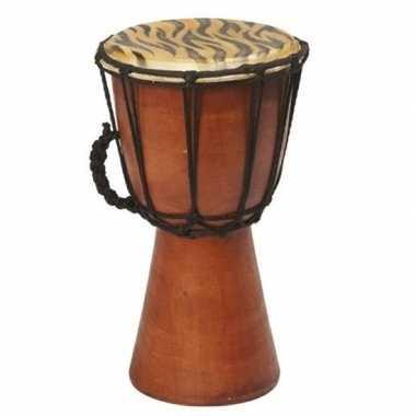 Handgemaakte drum/trommel tijgergoedkope