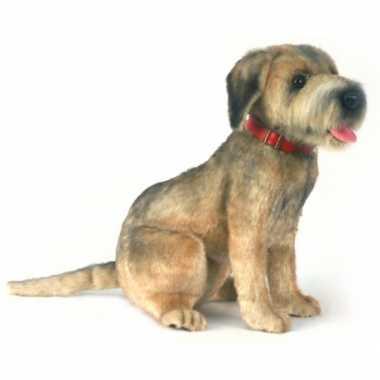 Verwonderend Goedkope hansa pluche border terrier hond knuffel | Goedkope.info YB-08