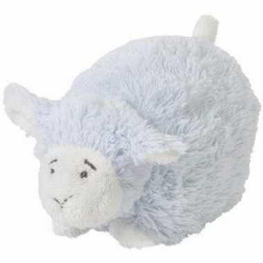Goedkope happy horse blauw liggend/staand pluche lammetje knuffel