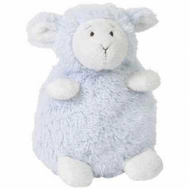 Goedkope happy horse blauw zittend pluche lammetje knuffel