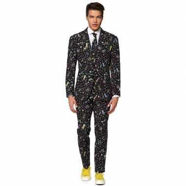 Heren verkleed pak/kostuum disco goedkope