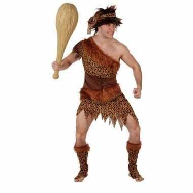Goedkope holbewoner/caveman atouk verkleed kostuum heren