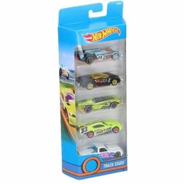 Goedkope hot wheels speelgoed race auto set stuks