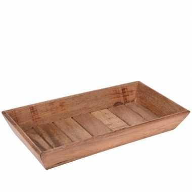 Goedkope houten dienblad rechthoek