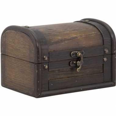 Goedkope houten doosje/kistje sluiting