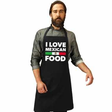 Goedkope i love mexican food keukenschort