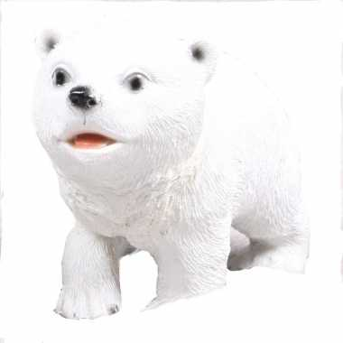 Goedkope ijsbeer beeldje wit type