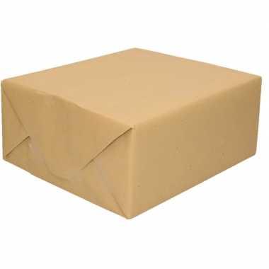 Goedkope inpakpapier bruin rol