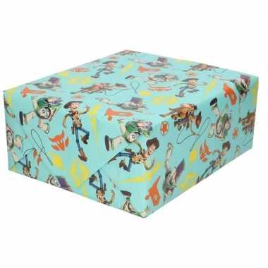 Goedkope inpakpapier/cadeaupapier disney toy story x