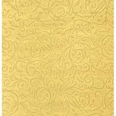 Goedkope inpakpapier/cadeaupapier goud klassiek design