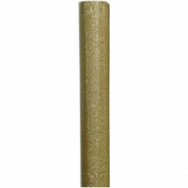 Goedkope inpakpapier goud/glitters