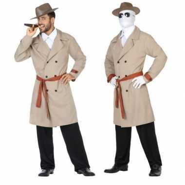 Goedkope invisible man/detective verkleed pak/kostuum heren