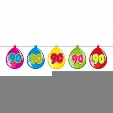 Goedkope jaar leeftijd versiering ballon slinger meter
