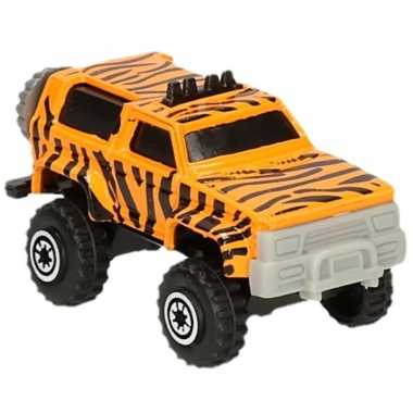 Jeep safari speelgoedauto tijger goedkope