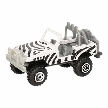 Jeep safari speelgoedauto zebra goedkope