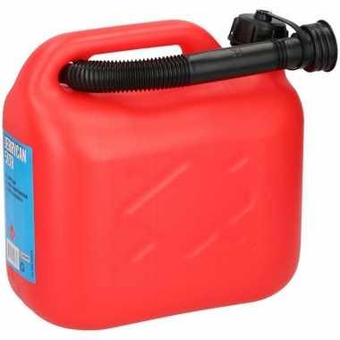 Goedkope jerrycan liter rood brandstof