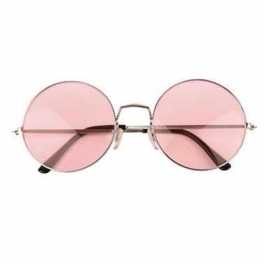 Goedkope john lennon xl bril roze