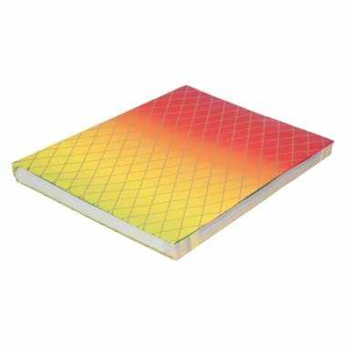 Goedkope kaftpapier regenboog kleuren