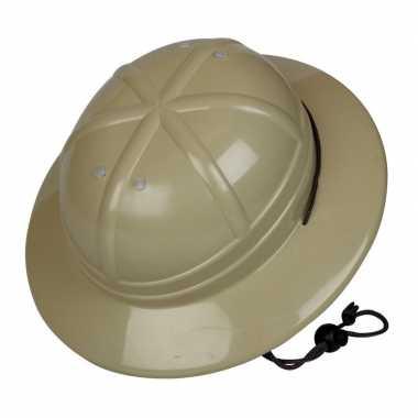 Goedkope kaki safari helm kinderen