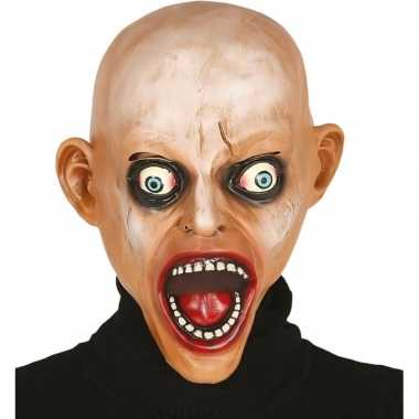 Goedkope kale zombie horror masker latex