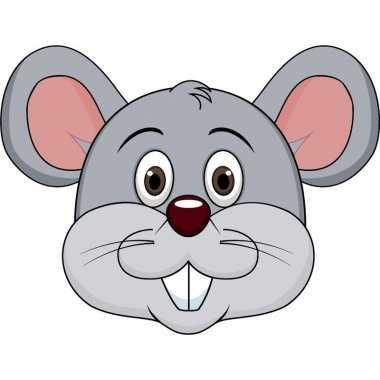 Goedkope kartonnen muizen masker kinderen