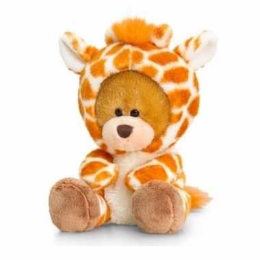 Goedkope keel toys pluche beer knuffel giraffe onesie