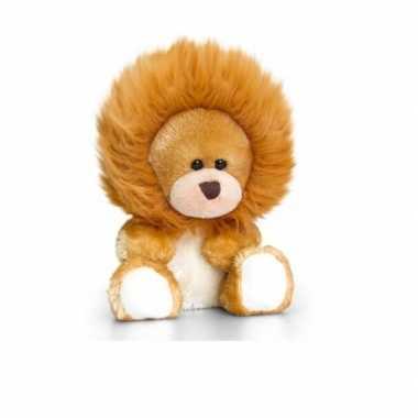 Goedkope keel toys pluche beer knuffel leeuwen manen