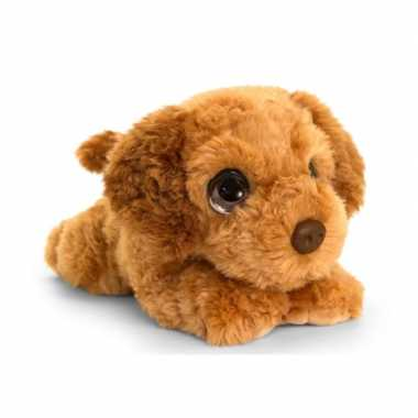 Goedkope keel toys pluche bruine cockapoo honden knuffel