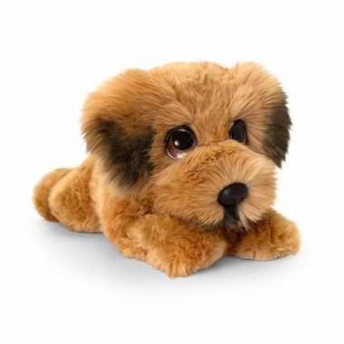 Goedkope keel toys pluche bruine ierse terrier honden knuffel