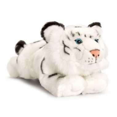 Goedkope keel toys pluche witte tijger knuffel speelgoed