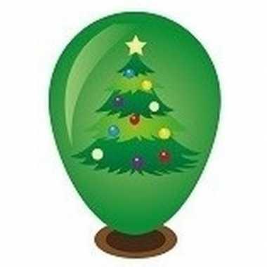 Goedkope kerstboom ballon versieren