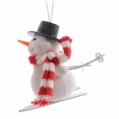 Goedkope kerstboom decoratie sneeuwpop hanger type