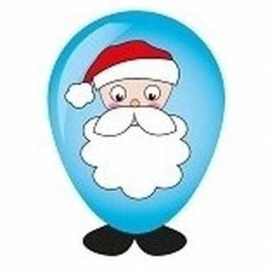 Goedkope kerstman ballon versieren