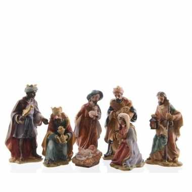 Goedkope kerststal figuren beeldjes