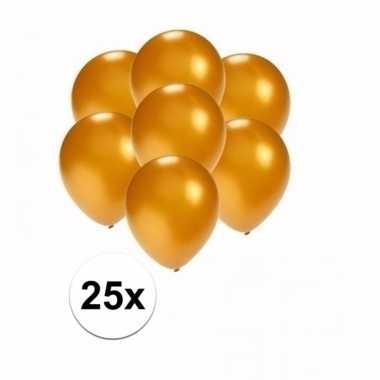 Goedkope kleine metallic gouden ballonnen stuks