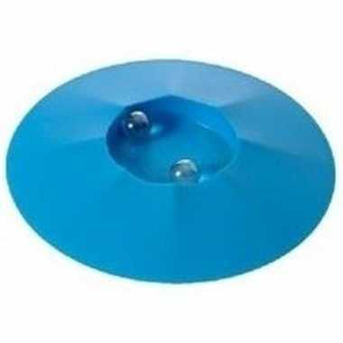 Goedkope knikkerpot blauw knikkers