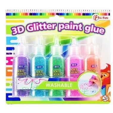 Goedkope knutsel lijm glitters stuks