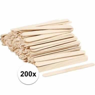 Goedkope knutselhoutjes stuks 10071529