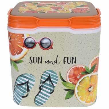 Goedkope koelbox sun and fun kunststof liter