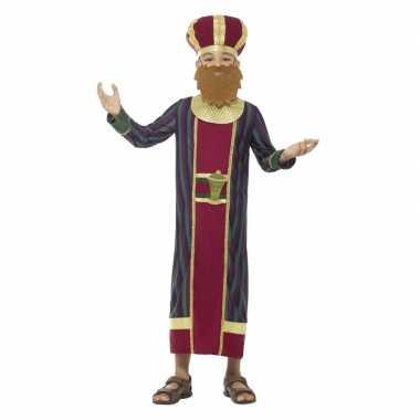Goedkope koning balthazar kostuum jongens koningen kerst kostuum