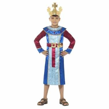 Goedkope koning melchior kostuum jongens koningen kerst kostuum
